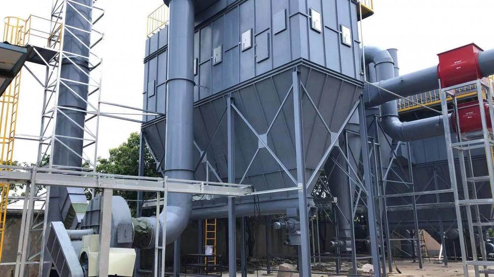 旋风+布袋除尘器——平和(苏州)商业···